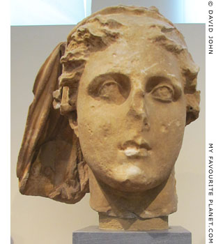 Head of the Greek goddess Demeter at My Favourite Planet