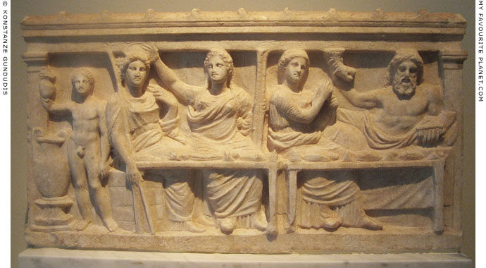 The Lysimachides relief from Eleusis at My Favourite Planet