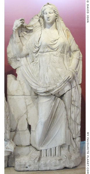 The Demeter relief from the Smyrna agora at My Favourite Planet
