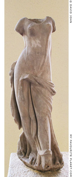 Statue of a dancing woman fromthe Demeter Terrace, Pergamon at My Favourite Planet