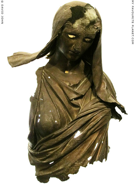 Fragmentary bronze statue of Demeter, Izmir Archaeological Museum at My Favourite Planet