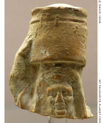 Terracotta head of an old woman, perhaps Demeter, fron Knidos at My Favourite Planet