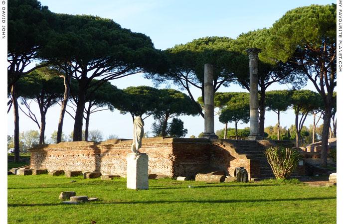 The Temple of Ceres in Ostia at My Favourite Planet