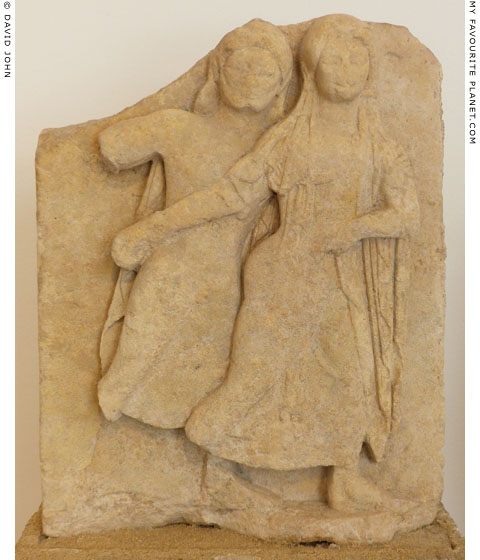 A relief of Hades abducting Persephone from Selinunte at My Favourite Planet