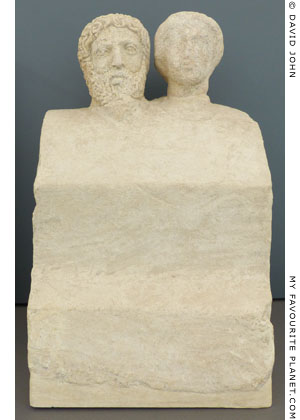 Divine couple from the sanctuary of Zeus Meilichios, Selinous at My Favourite Planet