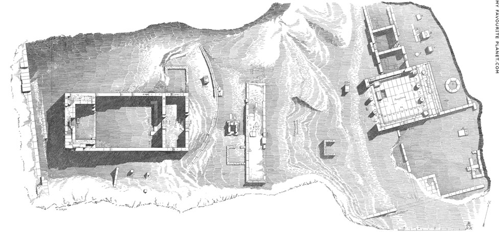 Plan of the Sanctuary of Malophoros, Selinous, Sicily at My Favourite Planet