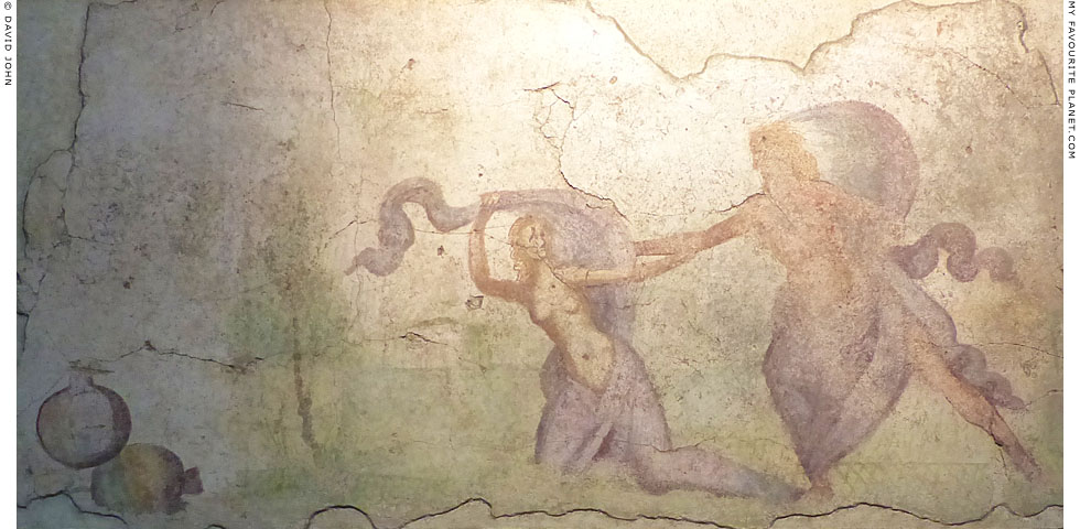 A Roman fresco depicting the abduction of Proserpina at My Favourite Planet