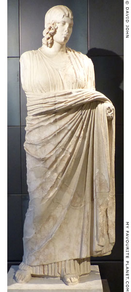 Colossal marble statue of Demeter, Capitoline Museums, Rome at My Favourite Planet