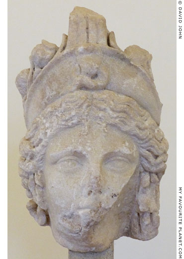 Marble head of Isis-Demeter, Palazzo Altemps, Rome at My Favourite Planet