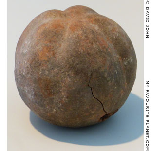 A terracotta apple from the Sanctuary of Malophoros, Selinous at My Favourite Planet