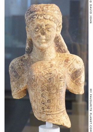 A terracotta kore figurine from the Sanctuary of Malophoros, Selinous at My Favourite Planet