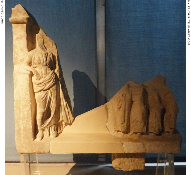 A votive relief of a goddess and worshippers from Syracuse at My Favourite Planet