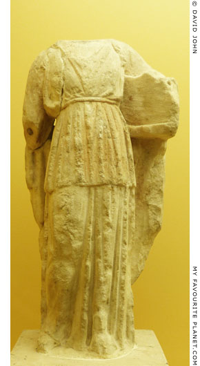 Statuette of Apollo Patroos from the Agora, Athens at My Favourite Planet