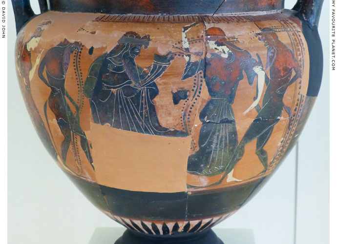 Dionysus with dancing maenads and satyrs at My Favourite Planet