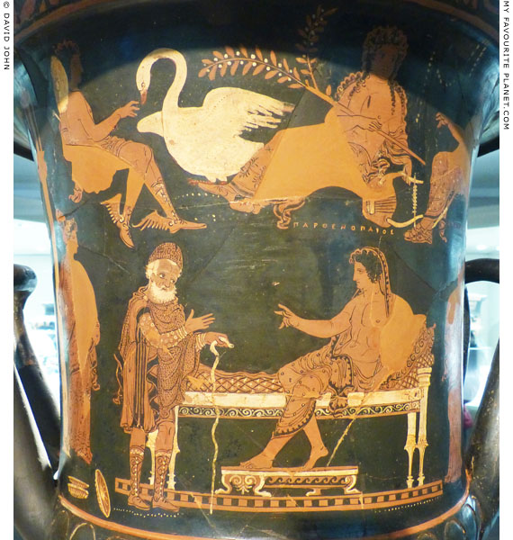 The main side of the Parthenopaios krater at My Favourite Planet
