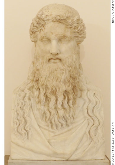Dionysos Sardanapalos head in Naples at My Favourite Planet