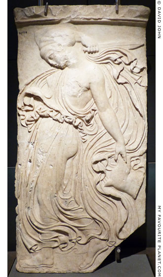Relief of a dancing maenad, Capitoline Museums, Rome at My Favourite Planet
