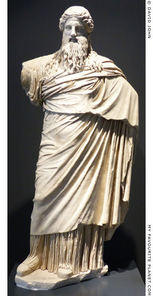 Statue of the Dionysos-Sardanapalos type, Palazzo Massimo, Rome at My Favourite Planet