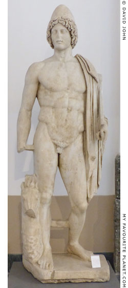The statue of Pollux in Naples at My Favourite Planet