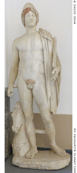 The statue of Castor in the Naples Archaeological Museum at My Favourite Planet