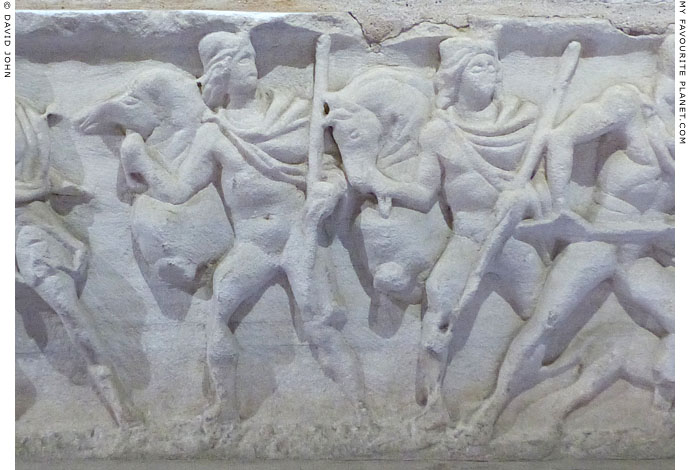 The Dioskouroi on the sarcophagus in Palermo Cathedral at My Favourite Planet