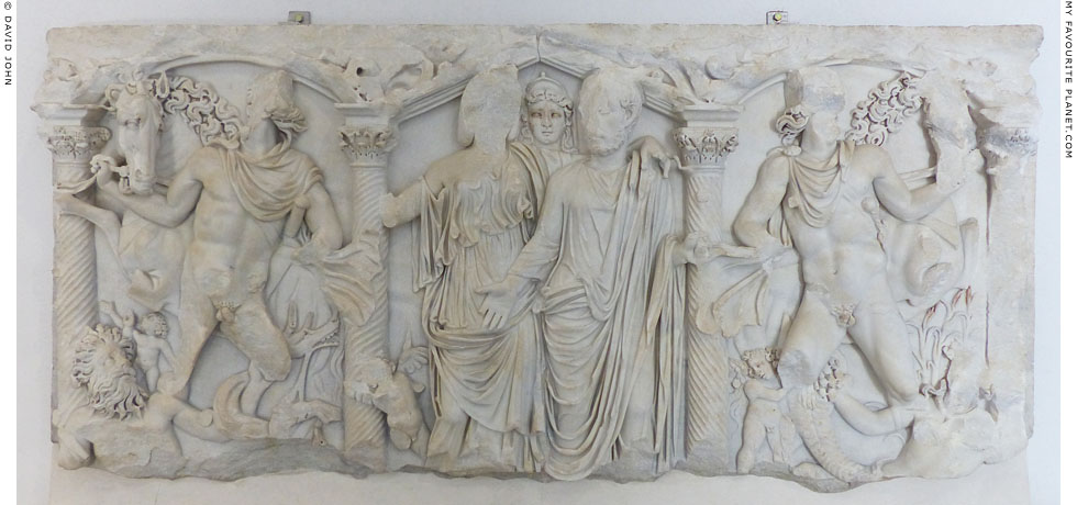 Sarcophagus relief with the Dioscuri, Palazzo Massimo alle Terme at My Favourite Planet