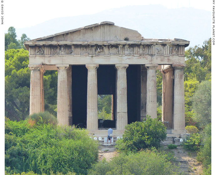 The Hephaisteion in the Agora of Athens at My Favourite Planet