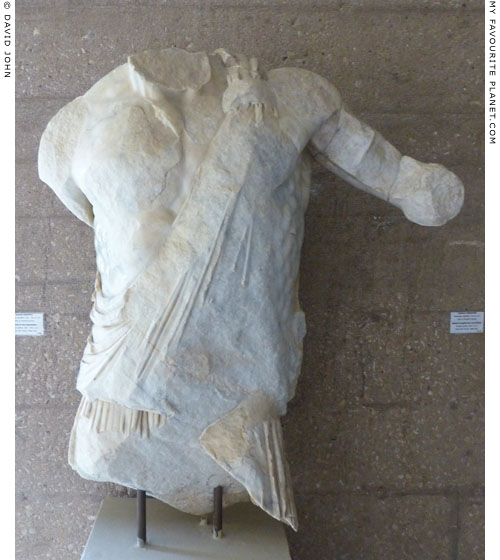 Fragmentary statue of Hephaistos from Corinth at My Favourite Planet