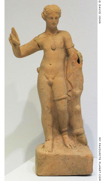 Hermaphroditus figurine from the Yortanli Dam Salvage<br>excavation, near Pergamon at My Favourite Planet