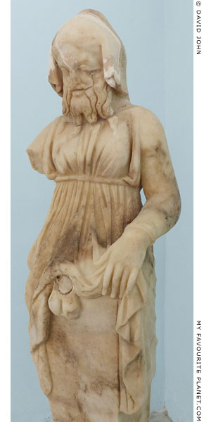 Hermaphroditus-Priapus in Delos at My Favourite Planet