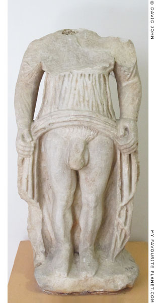 Statuette of Hermaphroditus from Izmir at My Favourite Planet