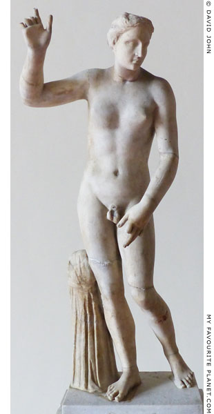 Statue of Hermaphroditus from Pompeii at My Favourite Planet