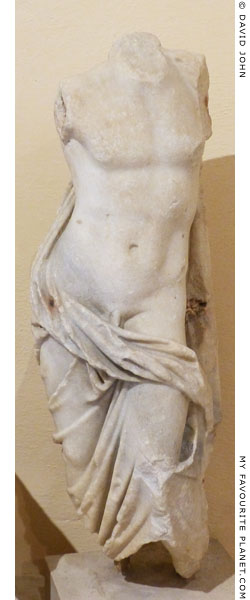 Marble statuette of Hermaphrodite-Attis, Ostia at My Favourite Planet
