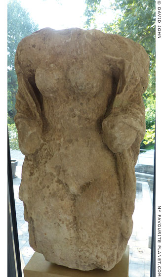 Marble statuette of Hermaphroditus, Thessaloniki Archaeological Museum at My Favourite Planet