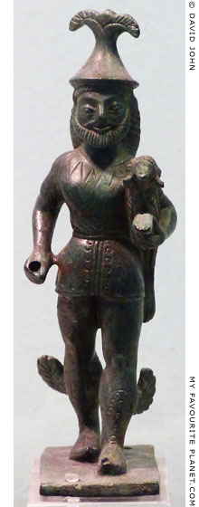 Bronze statuette of Hermes Kriophoros from Andritsaina, Arcadia, Greece at My Favourite Planet