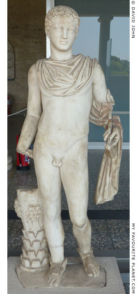 Statue of a youthful Hermes, Agora Athens at My Favourite Planet