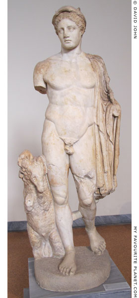 Marble statue of Hermes from Troezen at My Favourite Planet
