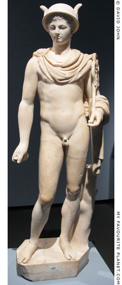Marble statue of Hermes, Pergamon Museum, Berlin at My Favourite Planet
