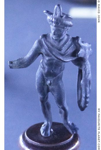 Bronze statuette of Mercury, Catania, Sicily at My Favourite Planet