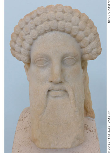 Head of a herm from the House of Hermes, Delos at My Favourite Planet