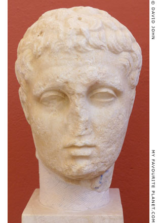 A head of Hermes or an idealized portrait of a youth at My Favourite Planet