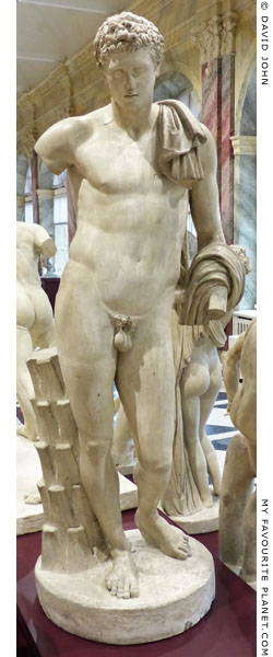The so-called Belvedere Antinous statue of Hermes at My Favourite Planet