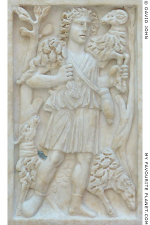 Relief of Cryophorus Pastor, Capitoline Museums, Rome at My Favourite Planet