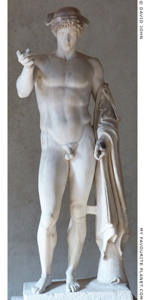 Statue of Hermes Loghios, Palazzo Altemps, Rome at My Favourite Planet