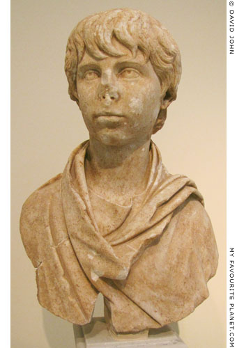 Bust of Polydeukes from Kifissia, Attica at My Favourite Planet