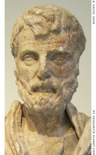 Portrait bust of Herodes Atticus at My Favourite Planet