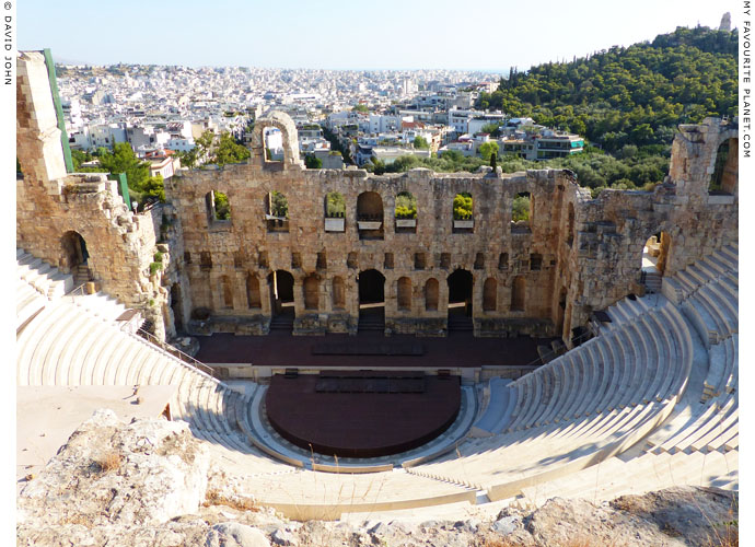 The Odeion of Herodes Atticus, Athens at My Favourite Planet