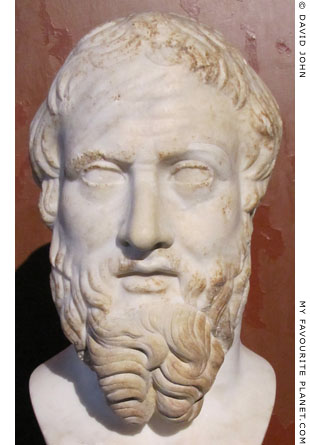 Portrait of Herodotus in Berlin at My Favourite Planet