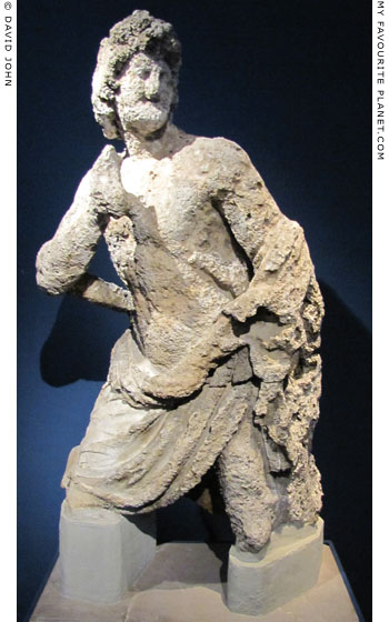 Statue of Achilles from the Antikythera shipwreck at My Favourite Planet
