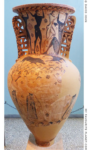 The Eleusis Amphora, the name vase of the Polyphemos Painter at My Favourite Planet